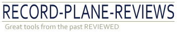 record plane reviews logo